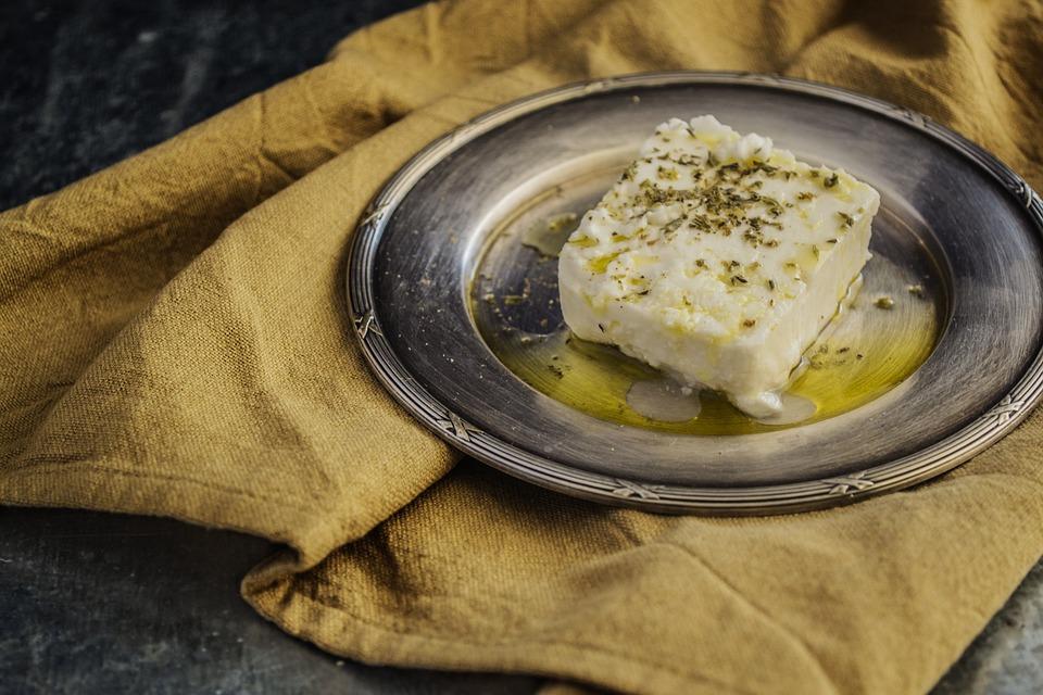 الجبنة البيضاء