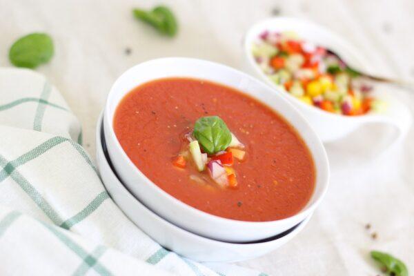 حساء البندورة