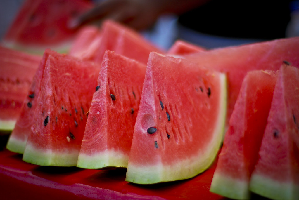 في الصيف البطيخ