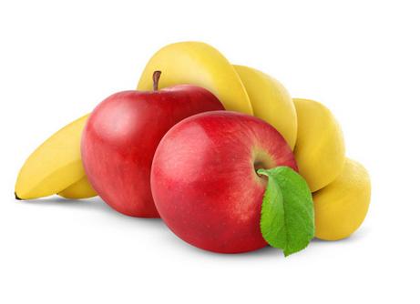 التفاح أم الموز